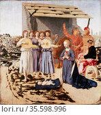 The Nativity' 1470-1485: Piero della Francesca (c1422-1492) Italian... Редакционное фото, агентство World History Archive / Фотобанк Лори