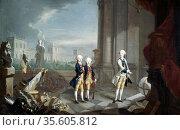 The Sons of Frederick II, Landgrave of Hesse-Kassel'. William (1743... Редакционное фото, агентство World History Archive / Фотобанк Лори