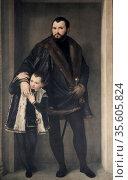 The Count of Pinto', Paolo Veronese (1528-1588) Italian Renaissance... Редакционное фото, агентство World History Archive / Фотобанк Лори