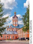 Alexander Nevsky Lavra, Saint Petersburg, Russia. Tower. Стоковое фото, фотограф Zoonar.com/Boris Breytman / easy Fotostock / Фотобанк Лори