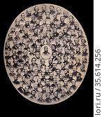 Photomontage of Representatives who voted 'Aye' on the resolution... Редакционное фото, агентство World History Archive / Фотобанк Лори