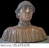 Benedetto da Majano, Florence (?), 1442 - Florence, 1497. Filippo... Редакционное фото, агентство World History Archive / Фотобанк Лори
