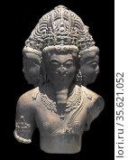 Brahma (the god of creation in Hindu mythology) - India, Malwa region... Редакционное фото, агентство World History Archive / Фотобанк Лори