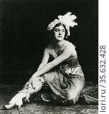 'Tamara Platanovna Karsavina (1885-1978) Russian ballerina who was... Редакционное фото, агентство World History Archive / Фотобанк Лори