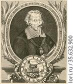 'Heinrich Schutz (1585-1672) German composer and organist , one of... Редакционное фото, агентство World History Archive / Фотобанк Лори