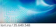 Abstraktes geometrisches Netzwerk aus Linien und Punkte auf Hintergrund... Стоковое фото, фотограф Zoonar.com/wolfgang rieger / easy Fotostock / Фотобанк Лори