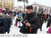 Масленичные гулянья в Балашихе, фотограф Александр Матвеев. Редакционное фото, фотограф Дмитрий Неумоин / Фотобанк Лори
