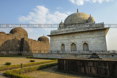 Tomb of Hoshang Shah in Mandu, Madhya Pradesh, India. It is the oldest...