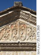 Temple of Clitumnus early medieval church, UNESCO World Heritage Site... Стоковое фото, фотограф Richard Semik / easy Fotostock / Фотобанк Лори