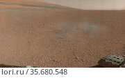 This is a portion of the first color 360-degree panorama from NASA... Редакционное фото, агентство World History Archive / Фотобанк Лори