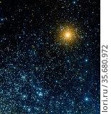 The Galaxy Evolution Explorer's ultraviolet eyes have captured a ... Редакционное фото, агентство World History Archive / Фотобанк Лори