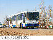 Nefaz 5299 (2008 год). Редакционное фото, фотограф Art Konovalov / Фотобанк Лори