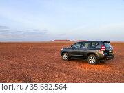 Toyota Land Cruiser Prado 150 (2019 год). Редакционное фото, фотограф Art Konovalov / Фотобанк Лори