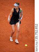 Paula Badosa of Spain against Jil Teichmann of Switzerland on day... Редакционное фото, фотограф Oscar Gonzalez / WENN / age Fotostock / Фотобанк Лори