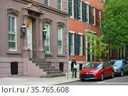 11th St  Philadelphia, Pennsylvania. USA. Urban view. Редакционное фото, фотограф Валерия Попова / Фотобанк Лори