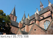 Stiftskirche in Kleve. Стоковое фото, фотограф Zoonar.com/Marlene Cleven / age Fotostock / Фотобанк Лори
