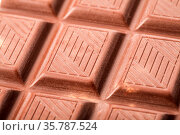 Background Chocolate Bar, Chocolate Bar Taken Closeup As Food Background... Стоковое фото, фотограф Zoonar.com/Alex Varlakov / age Fotostock / Фотобанк Лори