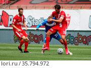 Serie B match between AC Monza and Brescia Calcio at Stadio Brianteo. Редакционное фото, фотограф Mairo Cinquetti / WENN / age Fotostock / Фотобанк Лори