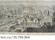 View of Paris. Редакционное фото, агентство World History Archive / Фотобанк Лори