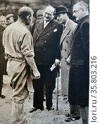 The Duke of York (later King George VI) Редакционное фото, агентство World History Archive / Фотобанк Лори