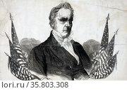 Campaign material for James Buchanan. Редакционное фото, агентство World History Archive / Фотобанк Лори