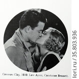 Common Clay', 1930 with Lew Ayres and Constance Bennett. Редакционное фото, агентство World History Archive / Фотобанк Лори
