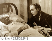Private Worlds', 1935, was the first American film to dramatize mental illness. Her psychiatrist Charles Boyer comforts a dying Arab patient by speaking a few words to him in his own language. Редакционное фото, агентство World History Archive / Фотобанк Лори