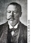 Photograph of Mr Edward Linley Sambourne. Редакционное фото, агентство World History Archive / Фотобанк Лори