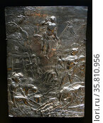 Silver Engraving titled 'The Resurrection of Christ' Редакционное фото, агентство World History Archive / Фотобанк Лори