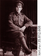 Photograph of David Ben Gurion. Редакционное фото, агентство World History Archive / Фотобанк Лори