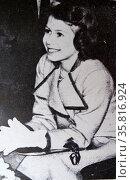 Princess Elizabeth (later Queen Elizabeth II of Great Britain) aged 11 in 1937. Редакционное фото, агентство World History Archive / Фотобанк Лори