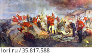 The Defence of Rorke's Drift. Редакционное фото, агентство World History Archive / Фотобанк Лори