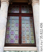 Stain Glassed Windows in the Piazza San Marco. Редакционное фото, агентство World History Archive / Фотобанк Лори