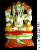 Seated Brahma 19th Century A.D. Редакционное фото, агентство World History Archive / Фотобанк Лори