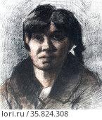 Vincent Van Gogh 'Portrait of a woman'. Редакционное фото, агентство World History Archive / Фотобанк Лори
