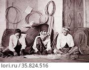 Indonesian basket makers. Редакционное фото, агентство World History Archive / Фотобанк Лори