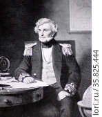 Sir James Clark Ross (1800 –1862) Редакционное фото, агентство World History Archive / Фотобанк Лори
