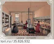 Citizens Volunteer Hospital Philadelphia 1862. Редакционное фото, агентство World History Archive / Фотобанк Лори