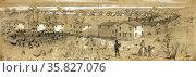 Freedman's (ex-slave) village--Greene Heights Arlington, Virginia. Редакционное фото, агентство World History Archive / Фотобанк Лори