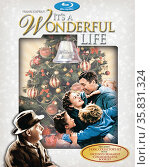 It's a Wonderful Life' a 1946 American Christmas fantasy comedy-drama film starring James Stewart and Donna Reed. Редакционное фото, агентство World History Archive / Фотобанк Лори
