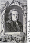 Carl von Linne. Редакционное фото, агентство World History Archive / Фотобанк Лори