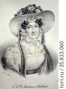 Madame Adelaide of France. Редакционное фото, агентство World History Archive / Фотобанк Лори