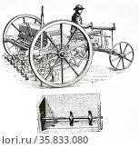 Patent Disc Drill. Редакционное фото, агентство World History Archive / Фотобанк Лори