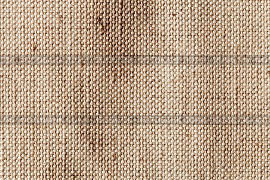 Textile structure of canvas in detail, structural background pattern