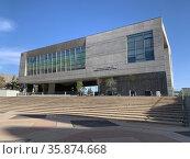 New building of Ben Gurion University in Beer Sheva. Редакционное фото, фотограф Irina Opachevsky / Фотобанк Лори