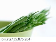 Green bean. Стоковое фото, агентство Ingram Publishing / Фотобанк Лори