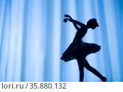 Ballerina pose . Стоковое фото, агентство Ingram Publishing / Фотобанк Лори