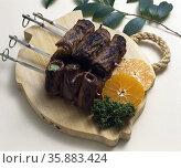 Korean Flour Food. Стоковое фото, агентство Ingram Publishing / Фотобанк Лори