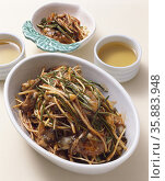Korean Food Side Dish. Стоковое фото, агентство Ingram Publishing / Фотобанк Лори