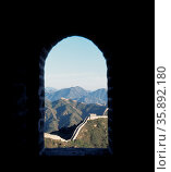 Great Wall of China. Стоковое фото, агентство Ingram Publishing / Фотобанк Лори